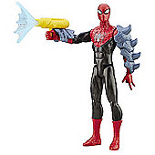 Marvel Ultimate Spider-Man Sinister 6 Titan Hero Spider-Man Figure with Gear