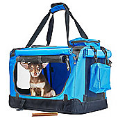 Andrew James Cosy Pet Carrier in Blue
