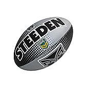 Steeden NRL New Zealand Warriors 2018 Supporter Rugby League Ball - 5