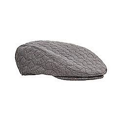 Mothercare Baby Newborn Boy s Grey Padded Flat Cap Size 6-12 months 8d61e3289bc