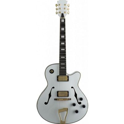 Stagg A300-WH Standard Jazz Electric Guitar - White