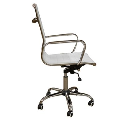Casino White Office Chair
