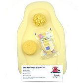 Hygan Foam Bath Support & Sponge Back