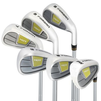 Forgan Of St Andrews Golf Hdt 5-Pw Iron Set - Steel - Stiff Flex 5-Pw