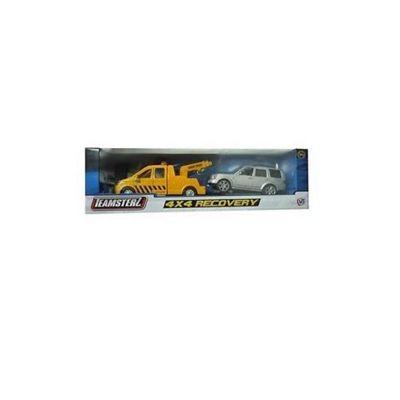 Teamsterz 4 x 4 Recovery W/Silver Car #1373560