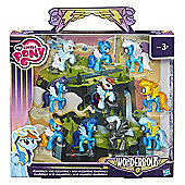 My Little Pony Friendship is Magic Wonderbolts Cloudsdale Mini Collection