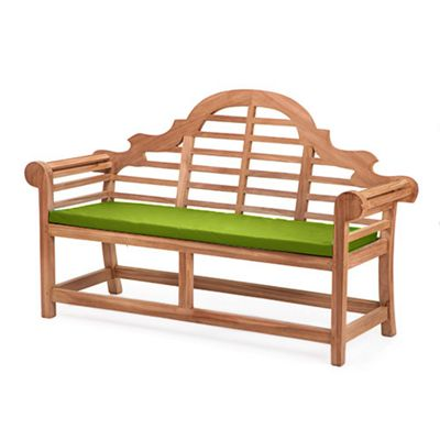 Gardenista Replacement Seat Pad for Lutyens Garden Bench - Lime