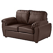 Wilton 2 Seat Compact Sofa, Chocolate