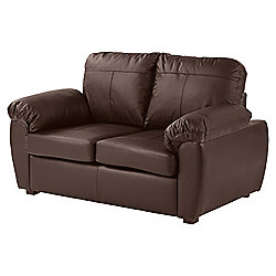 Wilton Compact 2 Seater Sofa, Chocolate