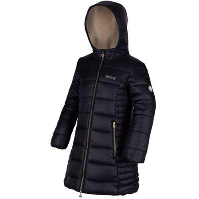Regatta Girls Berryhill Jacket Black 9-10