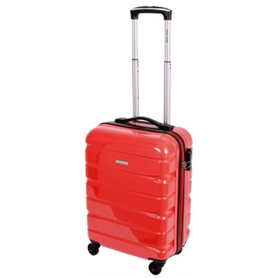 Pierre Cardin Vitus Small Trolley Case - Red Orange