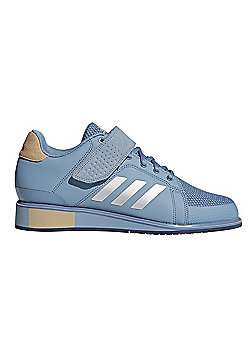adidas Power Perfect III Womens Adult Weightlifting Powerlifting Shoe Blue - Blue