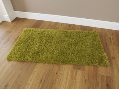 Oriental Carpets & Rugs Harmony Green Tufted Rug - 115cm L x 60cm W