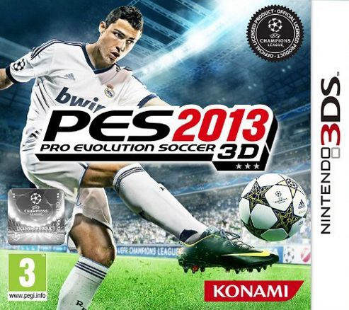 Pro Evolutions Soccer 2013 3Ds