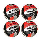 Mikasa 4 X VXS-01 Volleyballs