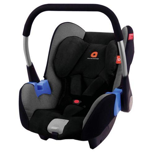 Apramo Gaia Car Seat, Group 0+, Grey/Black