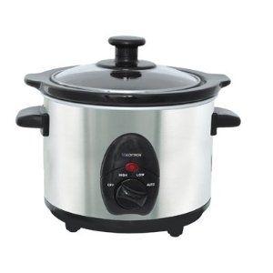 Lloytron E821SS 1.5L Stainless Steel Mini Slow Cooker