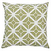 Riva Home Mono Cuba Sage Cushion Cover - 45x45cm