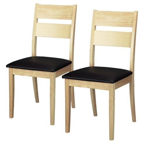 Wexford Natural Pair Of Dining Chairs