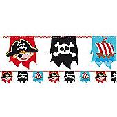 Captain Pirate Bunting - 4m