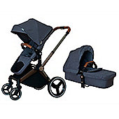 Mee-Go Venice Child Kangaroo Pram/Pushchair - Denim Blue