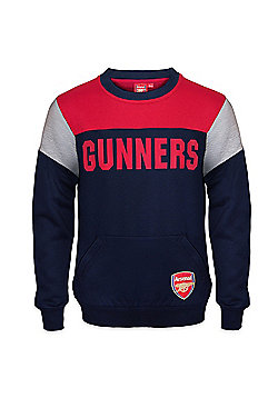 Arsenal FC Boys Sweatshirt - Navy