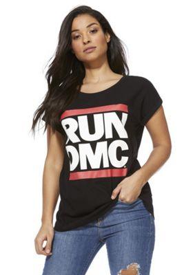 Run-D.M.C Band T-Shirt Black 8
