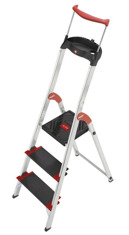 Hailo 237cm XXR 225 ChampionsLine Aluminium Safety Household Ladder
