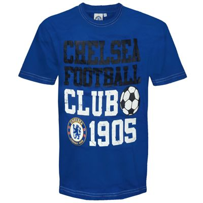 Chelsea FC Infants Graphic T-Shirt 2-3 Years