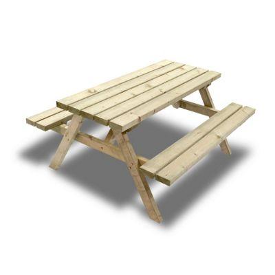 Oakham junior picnic bench - 5ft