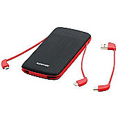 Promate polyMax-UNI Ultra-Thin 10000mAh 3-in-1 Power Bank Portable Charger