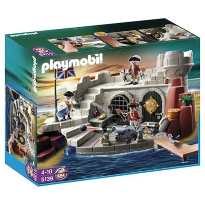 Playmobil 5139 Soldiers Fort With Dungeon