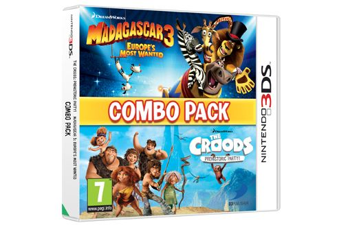 MADAGASCAR 3 & THE CROODS PREHISTORIC PARTY: COMBO PACK N3DS