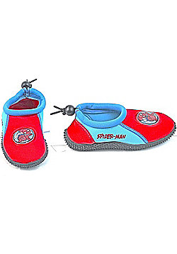 Spiderman Wet Aqua Beach Shoes - Red