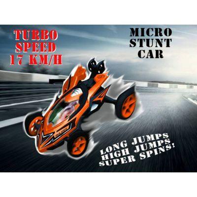 Auldey High Speed Stunt Micro RC Car Orange