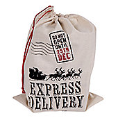 Santa Sack Christmas Xmas Express Delivery Decoration Gift bag