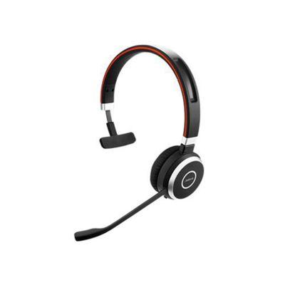 Jabra Evolve 65 MS mono Monaural Head-band Black headset