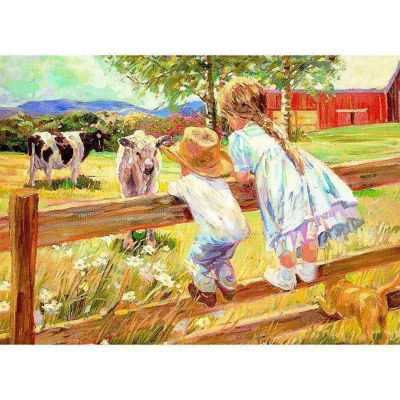 Kids on a Fence Puzzle