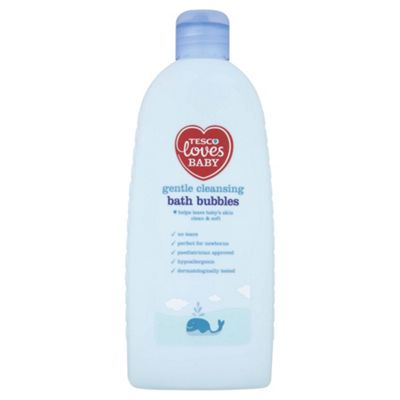 Tesco Loves Baby & Toddler Gentle Cleansing Bath Bubbles