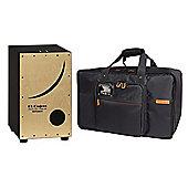 Roland ELCajon EC-10 Electronic Layered Cajon And CB-BEC10 Cajon Bag
