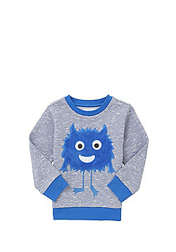 F&F Googly-Eyed Monster Sweatshirt - Blue
