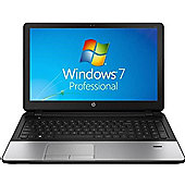 "HP 350 15.6"" Intel Pentium Windows 7 Pro 4GB RAM 500GB Laptop Silver"