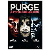 The Purge 3-Movie Collection DVD