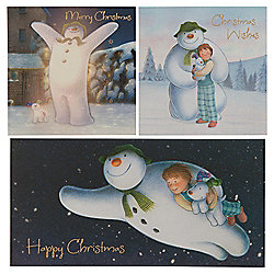 4c7f4c5cd Tesco The Snowman Christmas Cards, 30 Pack