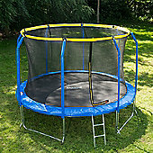 JumpStar Sports Trampoline With Internal Safety Net & Ladder - 12ft