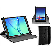 Navitech - Black Faux Leather Case Cover With 360 Rotational Stand For The Samsung Galaxy Tab A 10.1 / A 9.7 / S2 9.7 / TAB 4 10.1 / TAB A 2016