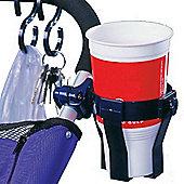 Prince Lionheart Pushchair Expandable Cup Holder Swivel Base Four BONUS S Hooks