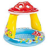 "Intex 40"" Inflatable Mushroom Baby Paddling Pool"