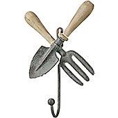 Parlane Wall Hanging Garden Tools Coat Hook - 24 x 15 x 6.5cm