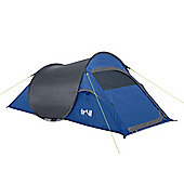 Trail SS 2-Man Waterproof Pop-Up Tent - Blue